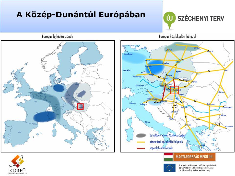 A Közép-Dunántúl Európában
