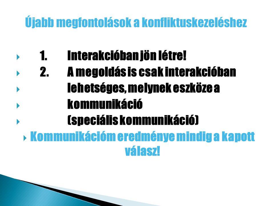  1.Interakcióban jön létre.