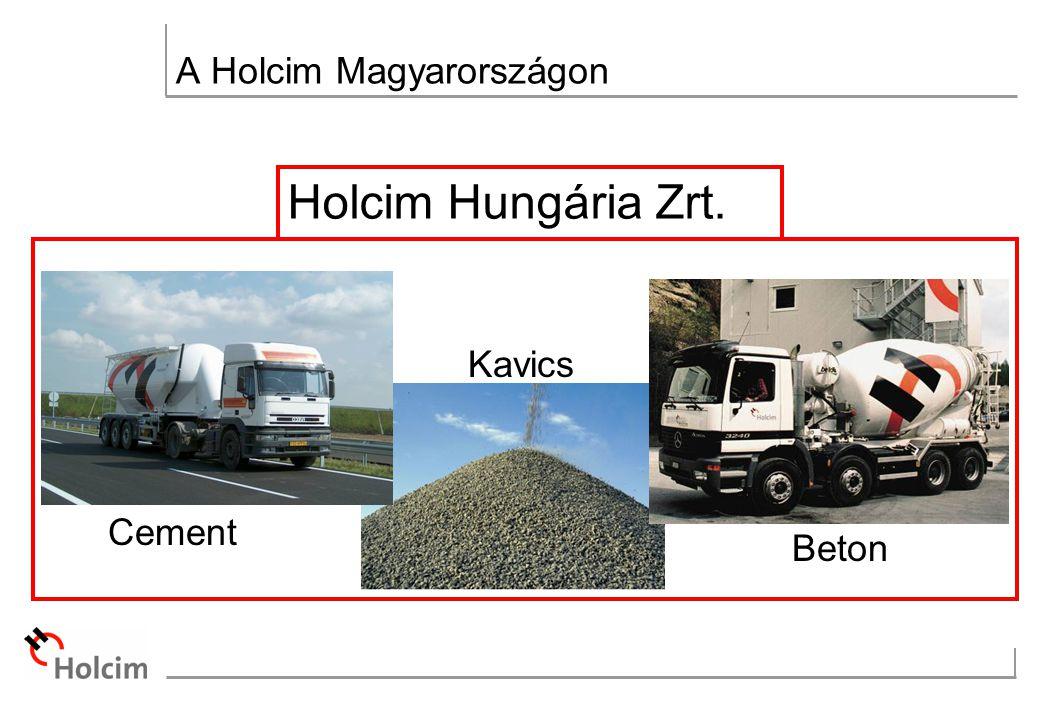 Holcim Hungária Zrt. Beton Cement Kavics A Holcim Magyarországon