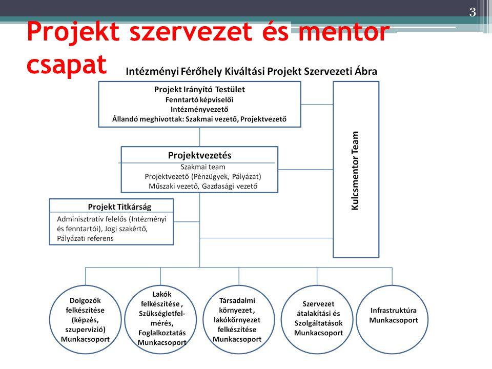 Projekt szervezet és mentor csapat 3