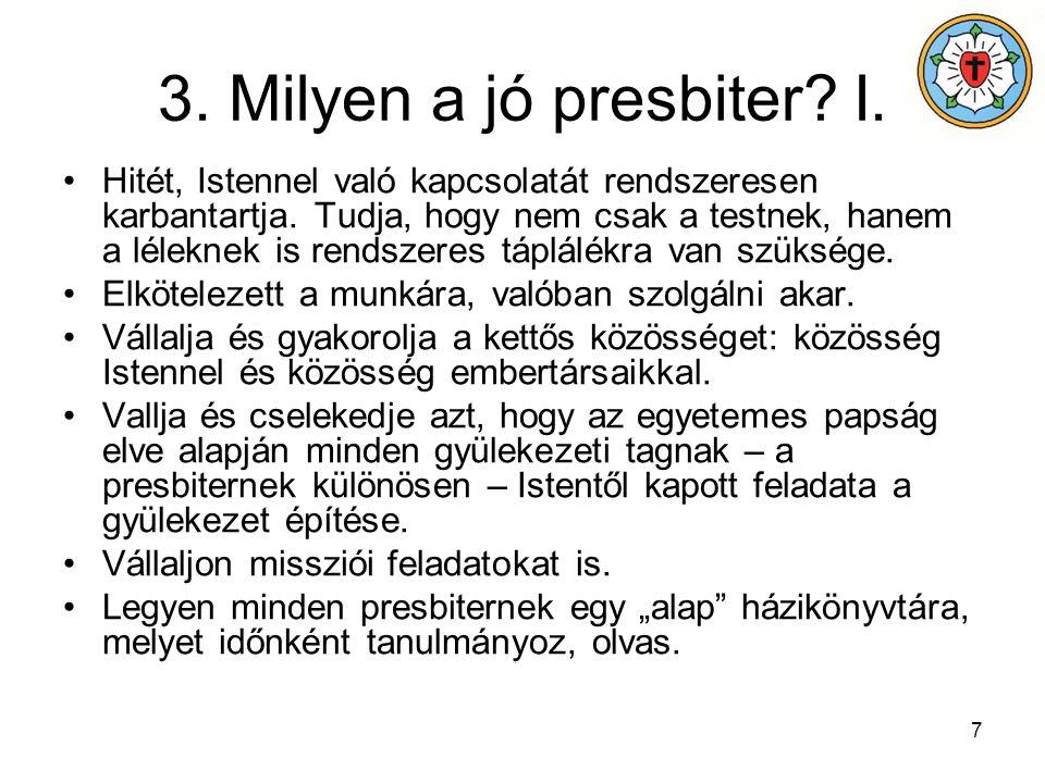 8 3.Milyen a jó presbiter. II.