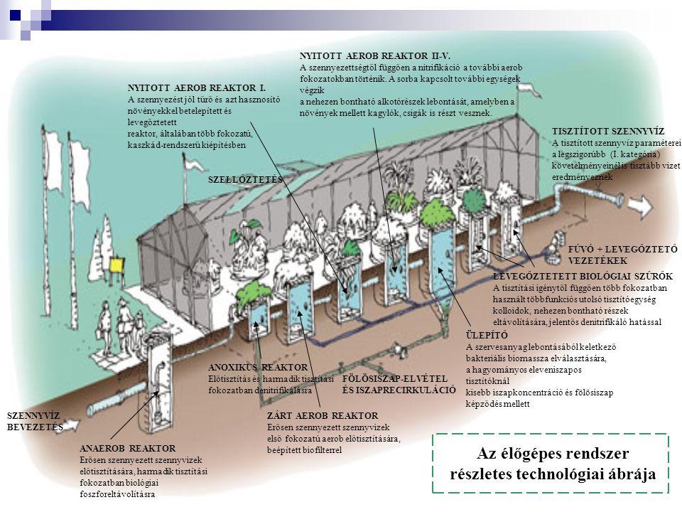 ANAEROB REAKTOR Erősen szennyezett szennyvizek előtisztítására, harmadik tisztítási fokozatban biológiai foszforeltávolításra SZENNYVÍZ BEVEZETÉS ANOX