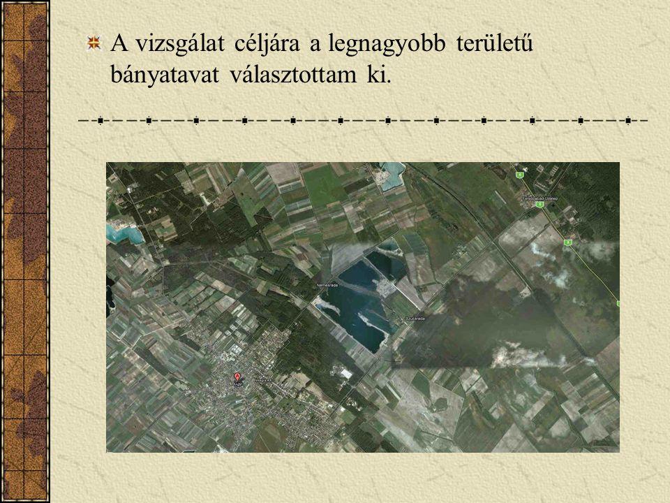 A vizsgált bányató… A bányató a település keleti részén, Alsónémedi és Ócsa irányába, a Rádai út és Babádi út között helyezkedik el.