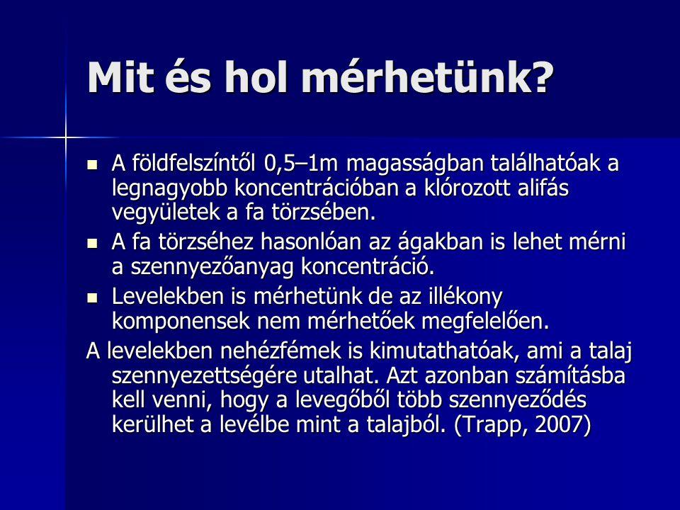 Mintázás menete A mintázást fúróval végezzük (pl.: 3–5 mm átmérőjű fúró mellyel Finnországban Suuntoban mértek) (Trapp, 2007) A mintázást fúróval végezzük (pl.: 3–5 mm átmérőjű fúró mellyel Finnországban Suuntoban mértek) (Trapp, 2007) A fúró behatol a fa belsejébe így kapva képet az egész törzs szerkezetéről.
