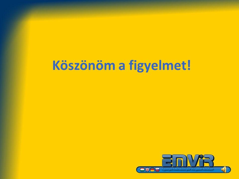 Források Írott EMViR Módszertani útmutató, Bp. 2009 Világhálóról elérhető www.emvir.hu Személyes interjú Bognár Ferenc, EMViR vezető biológus