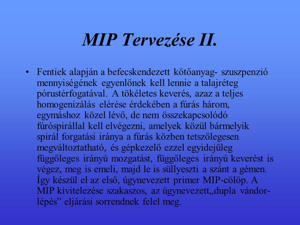 MIP Tervezése II.