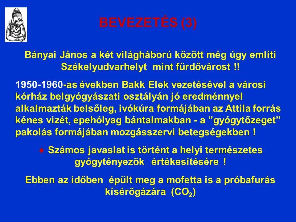 BEVEZETÉS (3) Bányai János a két világháború között még úgy említi Székelyudvarhelyt mint fürdővárost !.