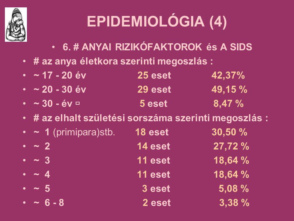 EPIDEMIOLÓGIA (4) 6.