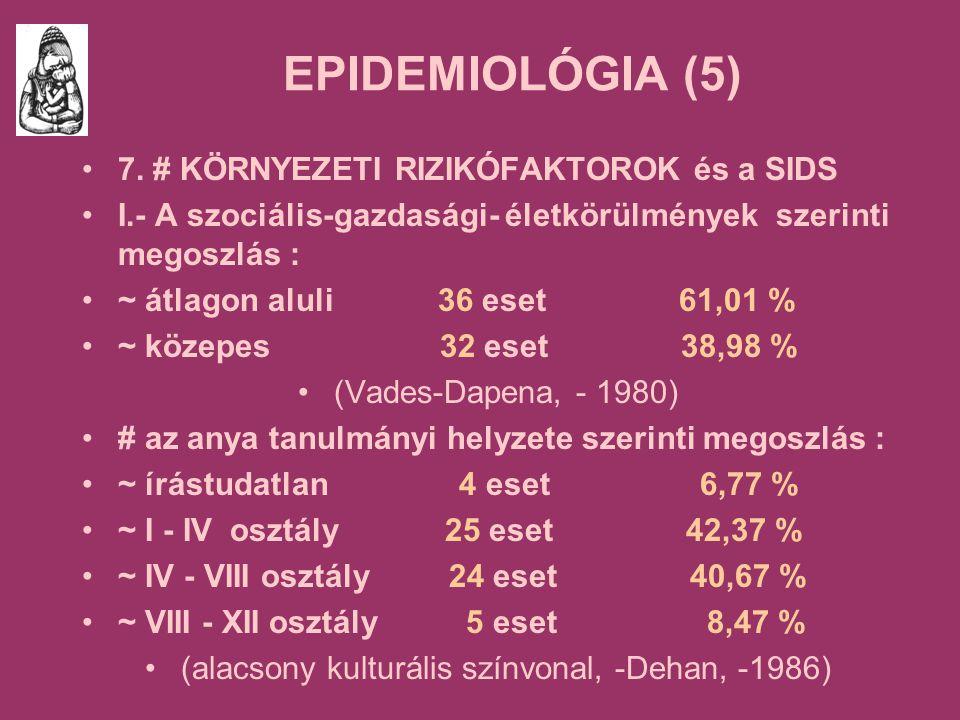 EPIDEMIOLÓGIA (5) 7.