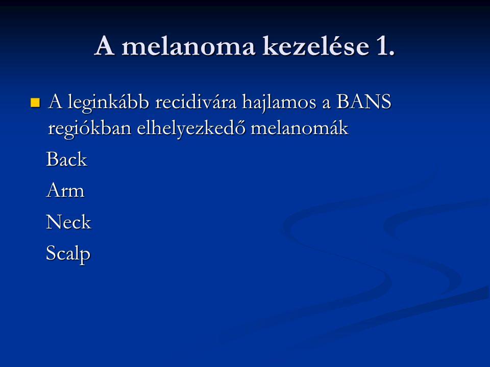 A melanoma kezelése 2.