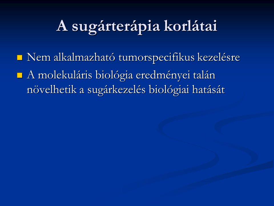 A sugárterápia szerepe 1.