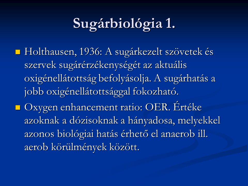Sugárbiológia 2.