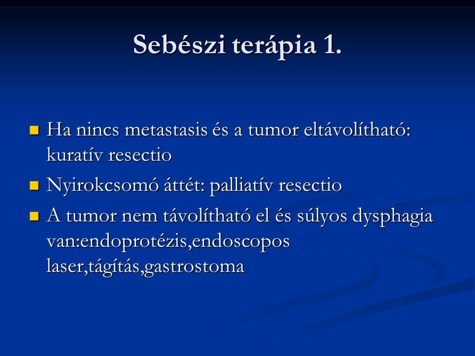 Sebészi terápia 2.