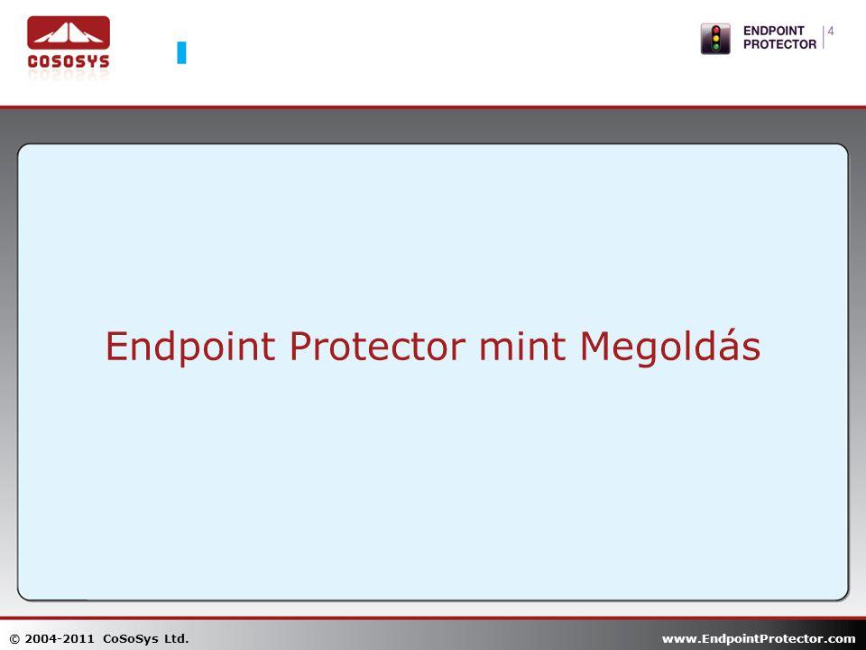 Endpoint Protector mint Megoldás © 2004-2011 CoSoSys Ltd. www.EndpointProtector.com