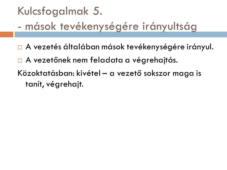 Kulcsfogalma 6.
