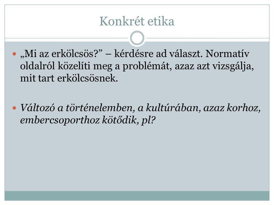 Szaketika pl.reklámetika, gazdasági etika, orvosi-, gyógyszerészi etika, stb.