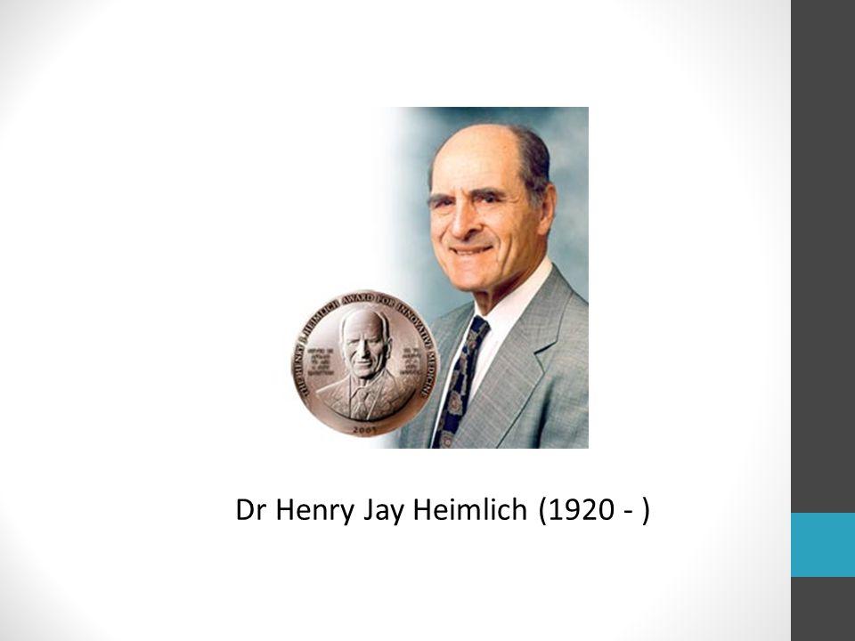 Dr Henry Jay Heimlich (1920 - )