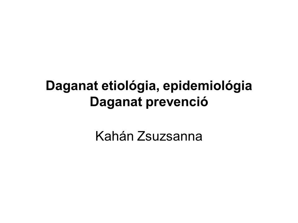 Etiológia, epidemiológia