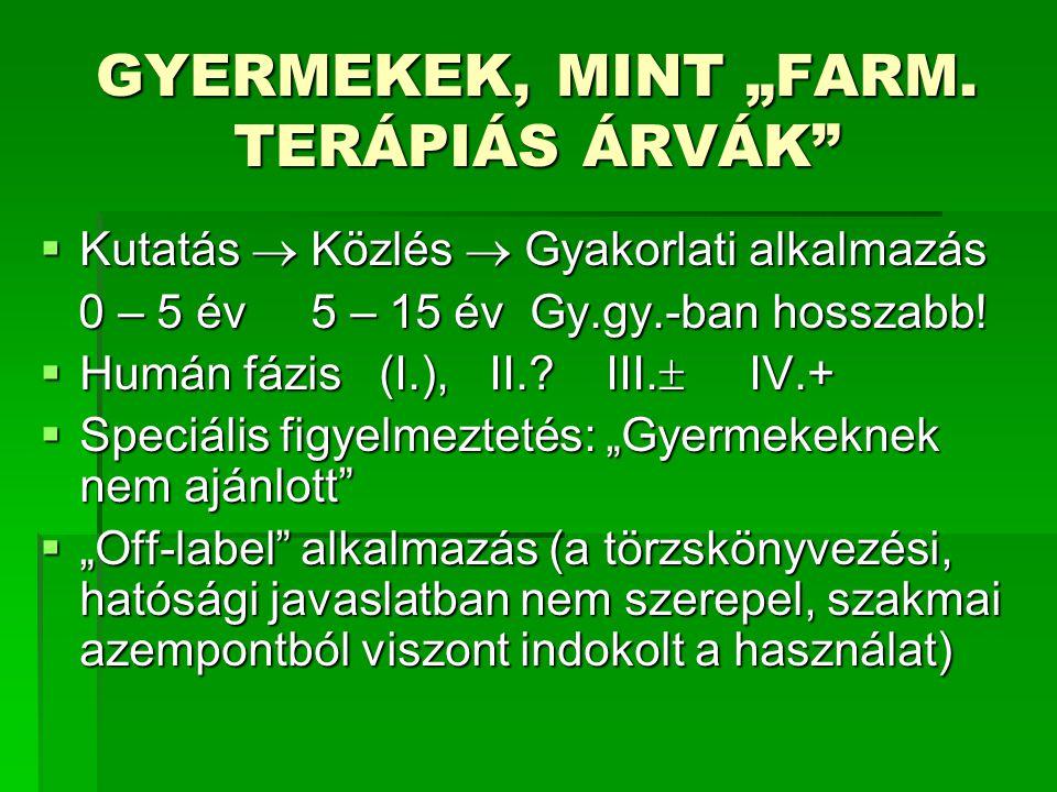 """GYERMEKEK, MINT """"FARM."""