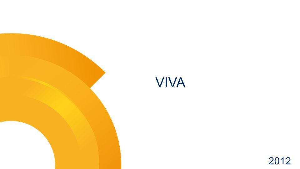 VIVA – Alap információk Lead Ifjúsági szórakoztató csatorna, zenével, nemzetközi és hazai fejlesztésű tartalmakkal Csatorna infók Az 1997-ben indult hazai zenecsatorna filozófiája szerint a VIVA a hazai fiatalok tévéje a fiatalok zenéivel, ezért a nemzetközi tartalmak mellett nagy hangsúlyt fektet a helyi gyártású műsorokra.