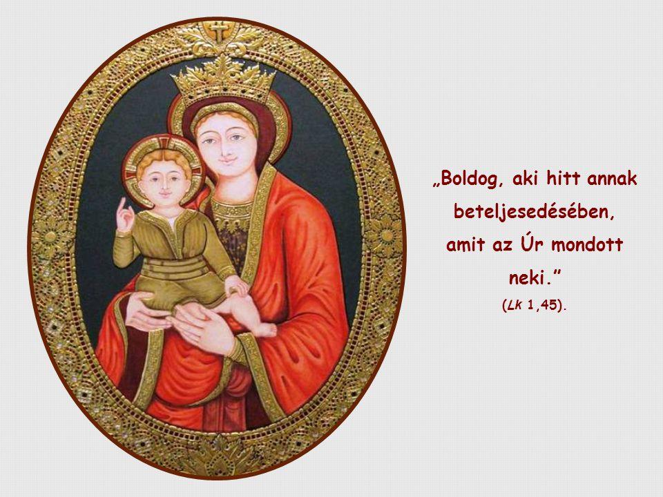 Erzsébet a Szentlélek indíttatására szinte ugyanezt adja hírül: minden tanítvány az Úr 'édesanyjává' válhat, feltéve, ha hisz Isten Igéjében, és életre is váltja.