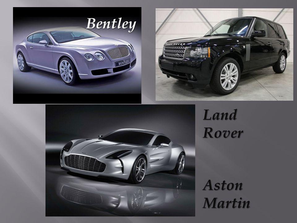 Aston Martin Land Rover Bentley
