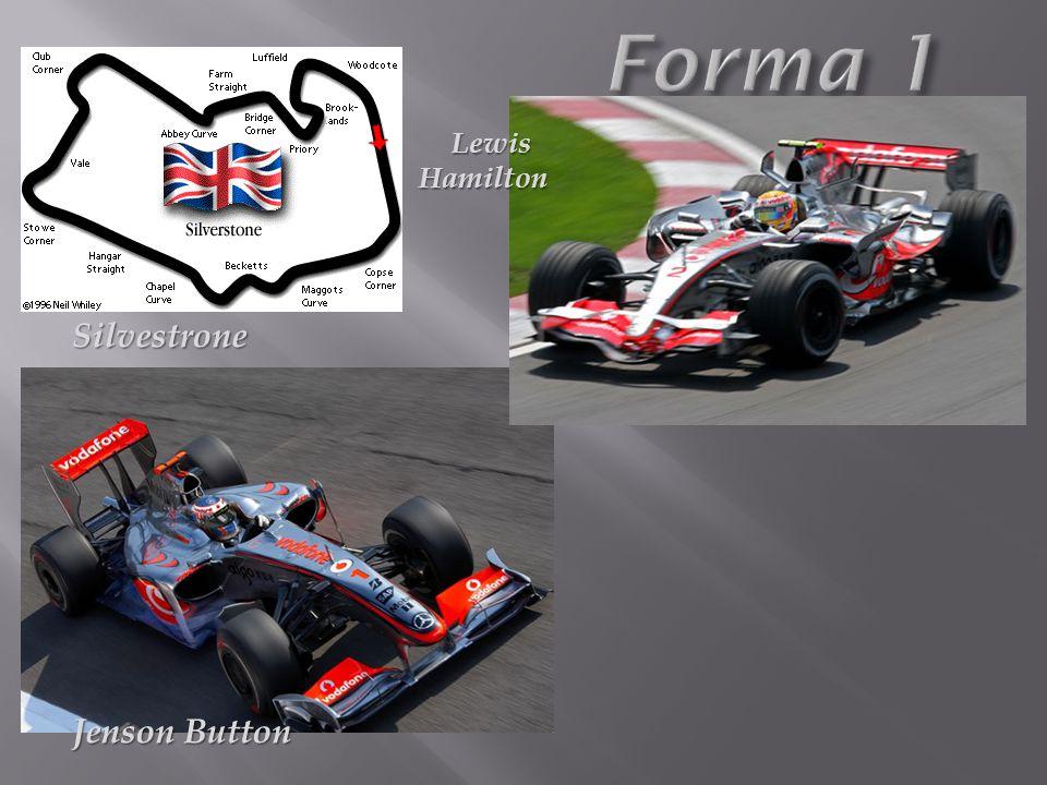 Jenson Button Silvestrone Lewis Hamilton