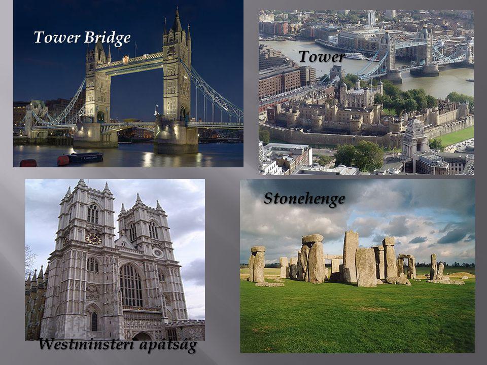 Tower Bridge Stonehenge Tower Westminsteri apátság