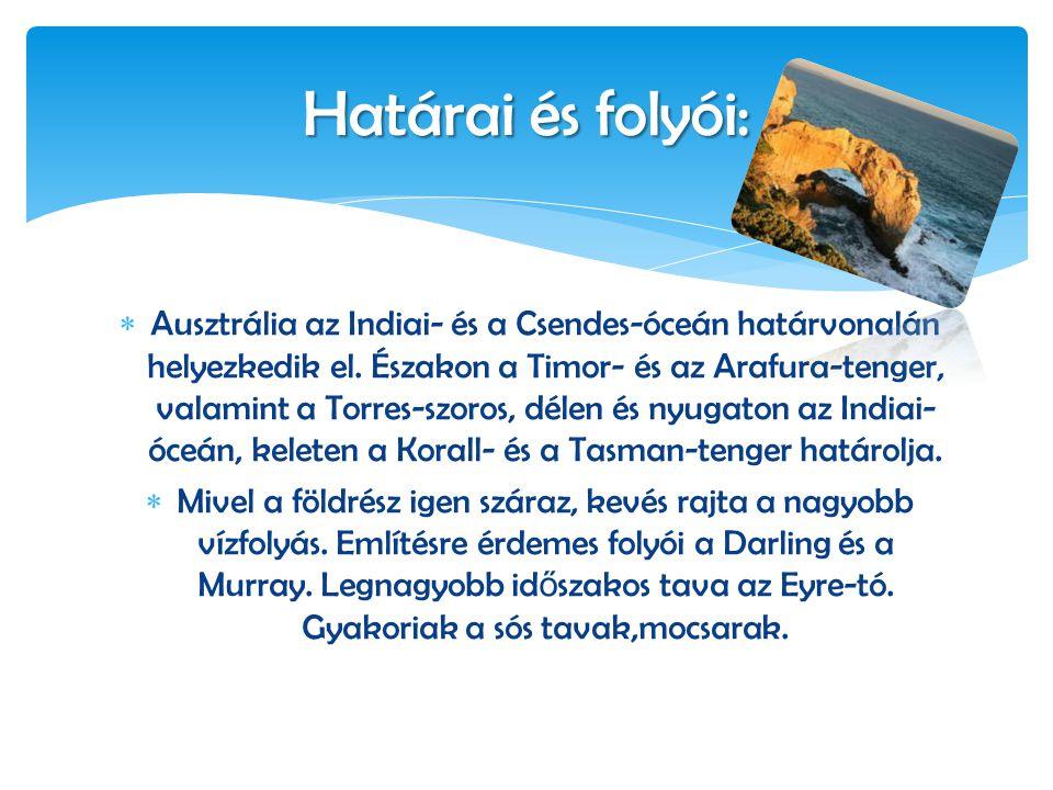  A szárazföld felfedezése után a kontinenst elnevezték Ausztráliának.