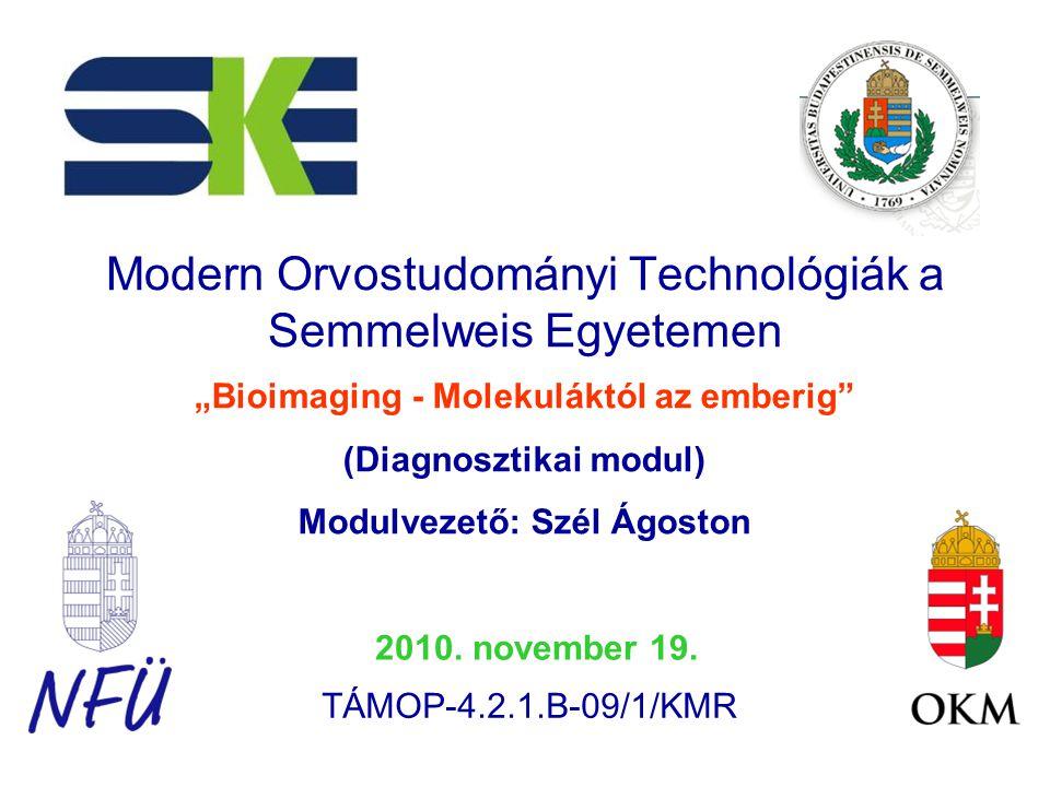 Modern Orvostudományi Technológiák a Semmelweis Egyetemen 2010.