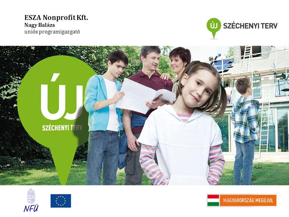 ESZA Nonprofit Kft. Nagy Balázs uniós programigazgató