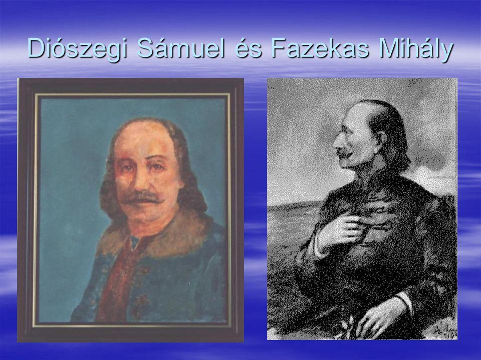 Diószegi Sámuel és Fazekas Mihály