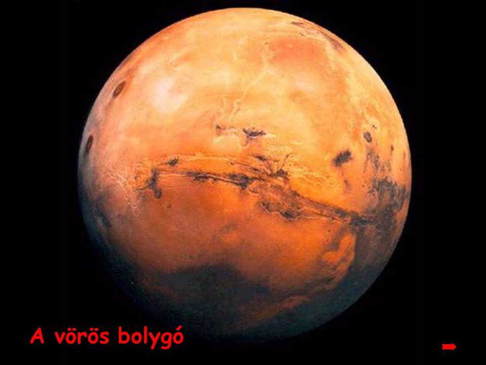 Mars Vagy más néven, a vörös bolygó, káprázatos látványt fog nyújtani.