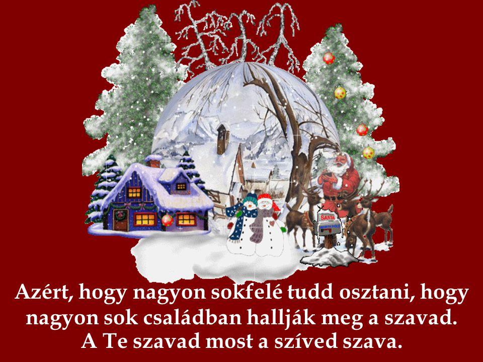 Te jó ember vagy? Ha igen, akkor így, Karácsony tájt megnő a szíved. Tudod miért?