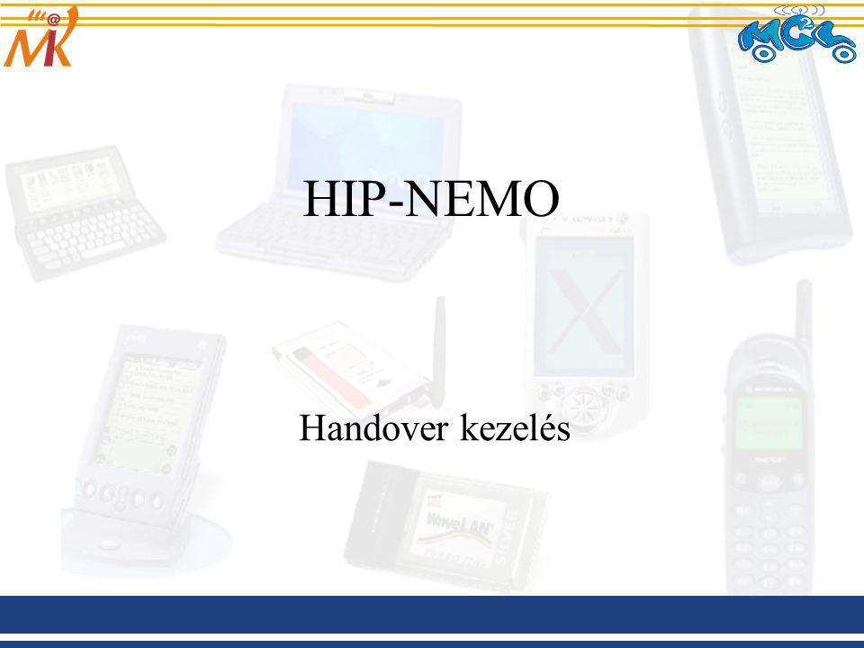 HIP-NEMO Handover kezelés