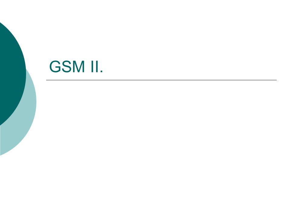 42/49 GPRS ütemterv  Bármely rendszer bevezetését általában több lépcsőn keresztül valósítják meg.