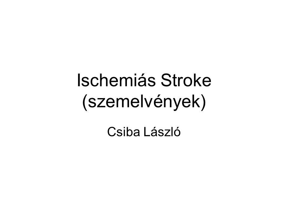 A stroke formái – elkülönités csak CT-vel !!.