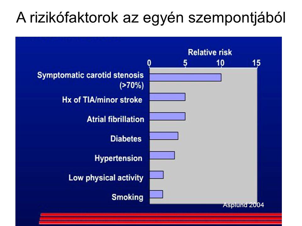 Asplund 2004 A rizikófaktorok az egyén szempontjából