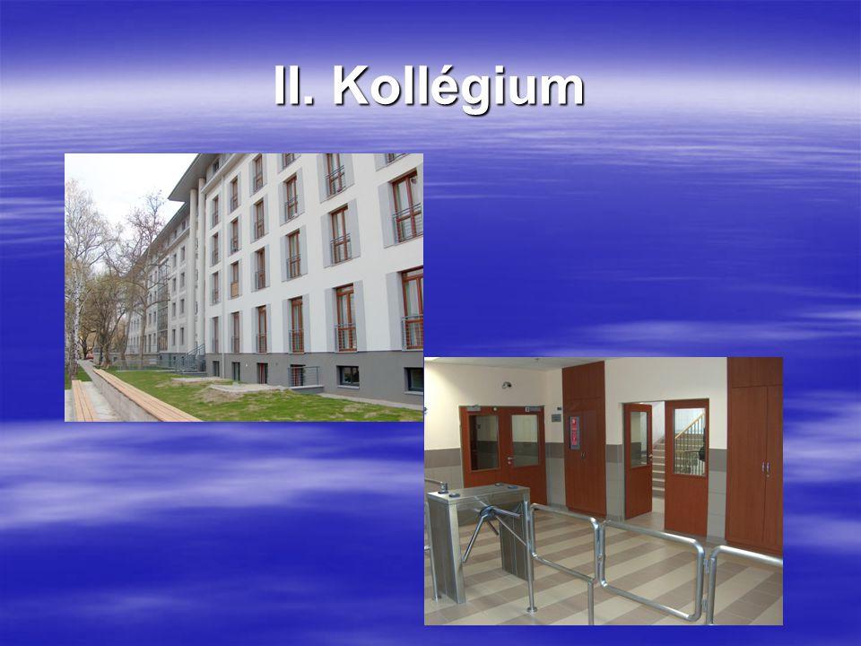 II. Kollégium