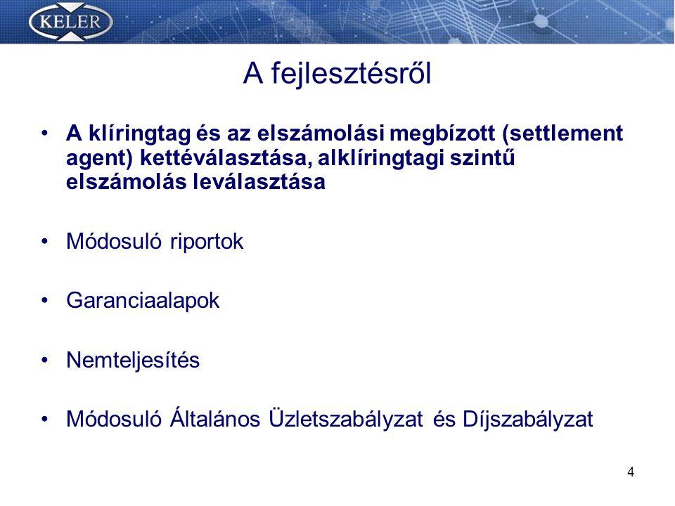 25 Tervezett nemteljesítési folyamat Ép.oldali nemteljesítés 11:30 Vétlen fél kiválasztása.