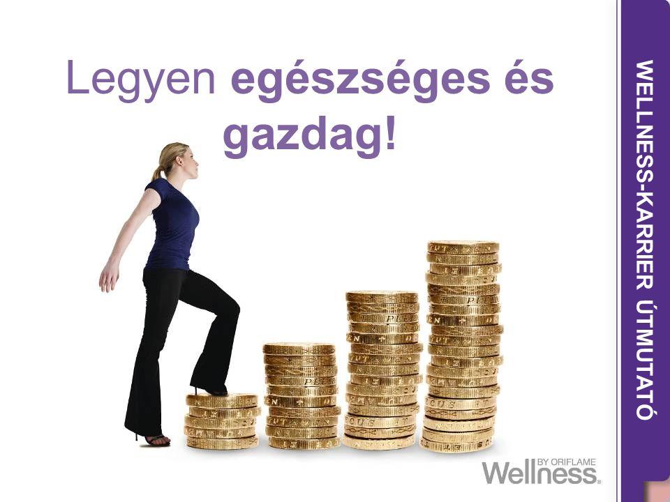 THE WELLNESS CAREER GUIDE WELLNESS-KARRIER ÚTMUTATÓ Legyen egészséges és gazdag!