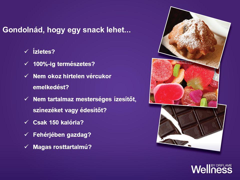 Ízletes? 100%-ig természetes? Nem okoz hirtelen vércukor emelkedést? Nem tartalmaz mesterséges ízesítőt, színezéket vagy édesítőt? Csak 150 kalória? F