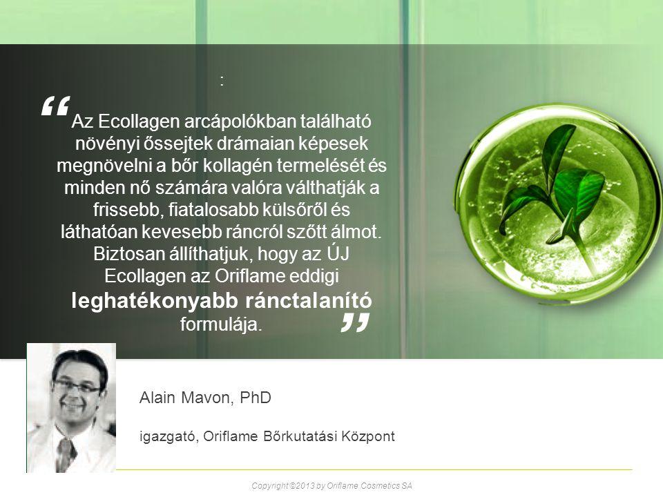 : Az Ecollagen arcápolókban található növényi őssejtek drámaian képesek megnövelni a bőr kollagén termelését és minden nő számára valóra válthatják a