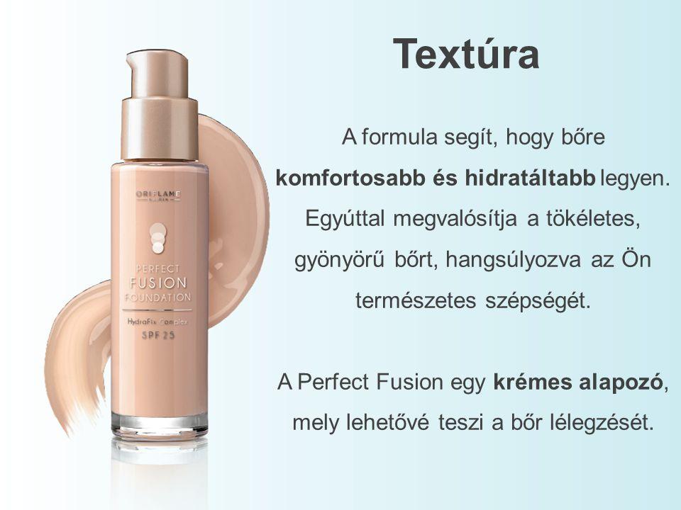 A formula segít, hogy bőre komfortosabb és hidratáltabb legyen. Egyúttal megvalósítja a tökéletes, gyönyörű bőrt, hangsúlyozva az Ön természetes széps