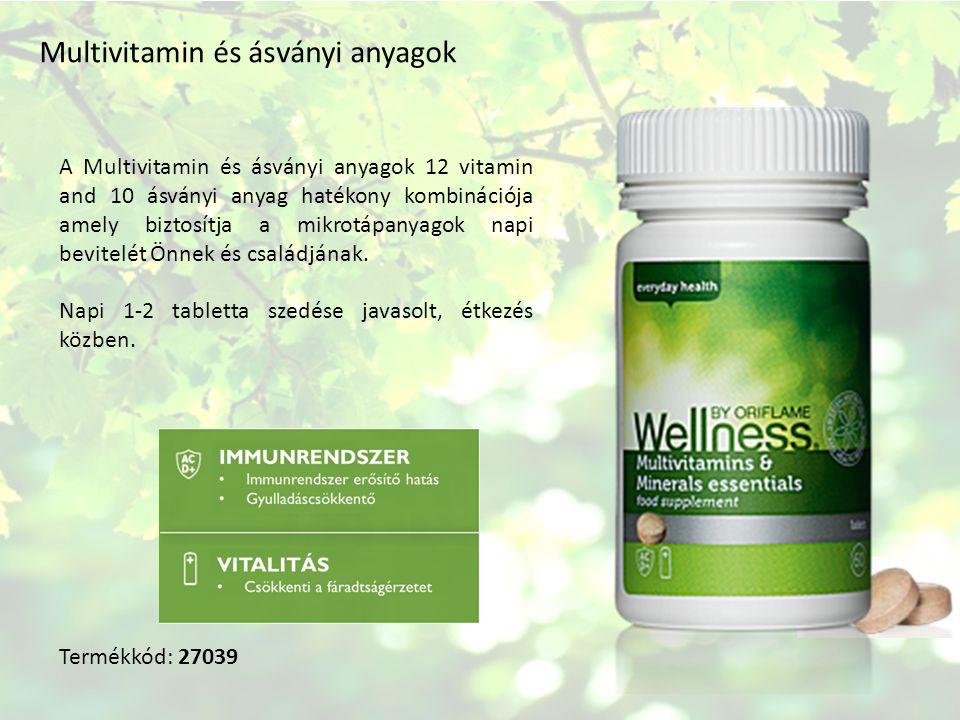 Multivitamin és ásványi anyagok A Multivitamin és ásványi anyagok 12 vitamin and 10 ásványi anyag hatékony kombinációja amely biztosítja a mikrotápanyagok napi bevitelét Önnek és családjának.