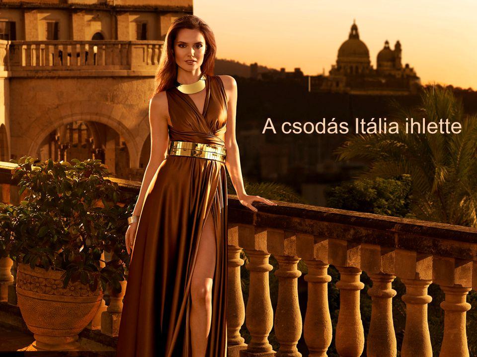 A csodás Itália ihlette