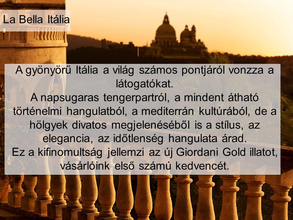 A gyönyörű Itália a világ számos pontjáról vonzza a látogatókat. A napsugaras tengerpartról, a mindent átható történelmi hangulatból, a mediterrán kul