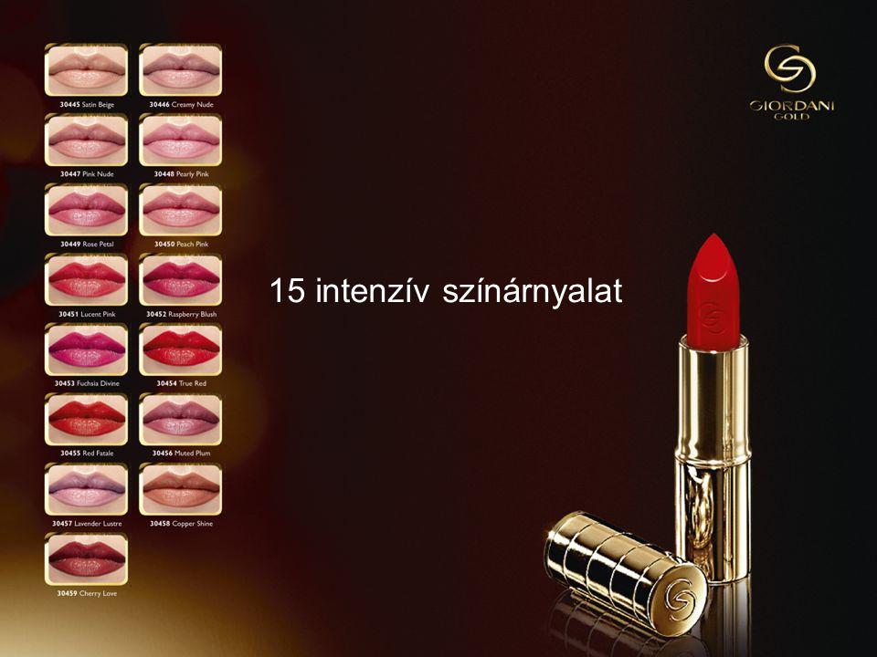 1013/09/2014Copyright ©2013 by Oriflame Cosmetics SA 15 intenzív színárnyalat