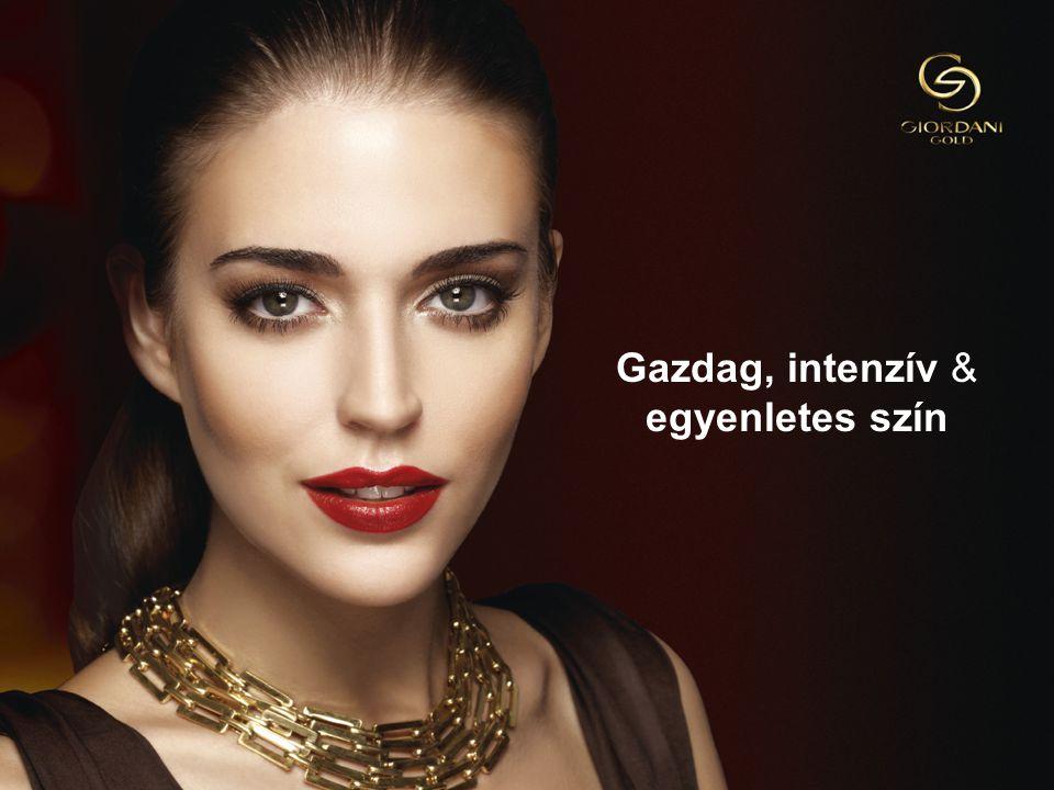 613/09/2014Copyright ©2013 by Oriflame Cosmetics SA Gazdag, intenzív & egyenletes szín