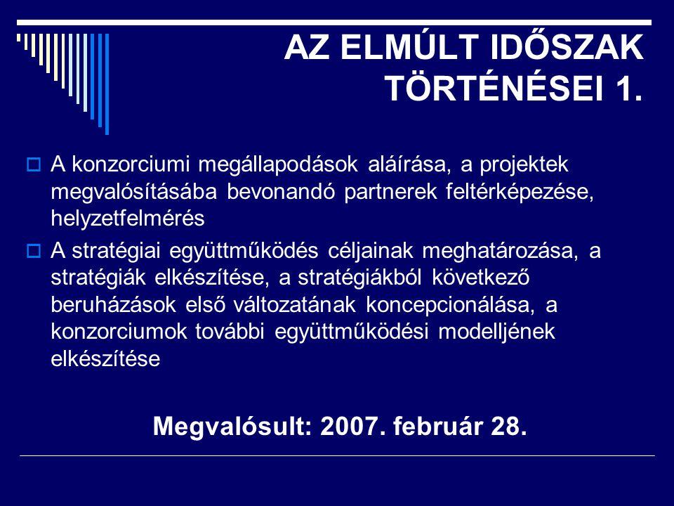 AZ ELMÚLT IDŐSZAK TÖRTÉNÉSEI 1.
